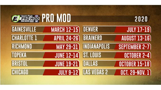 2020 NHRA Pro Mod Schedule [678]