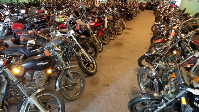 500 motorcycles will be sold on this MN Auction - K-Bid Online Auctions