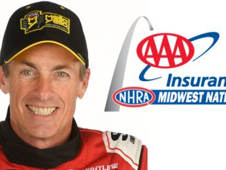 AAA INSURANCE NHRA MIDWEST NATIONALS -Top Fuel Clay Millican [678]