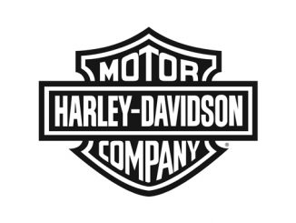 Harley-Davidson bar and shield logo black [678]