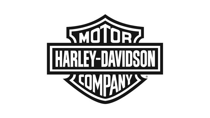 Harley-Davidson bar and shield logo black [678]