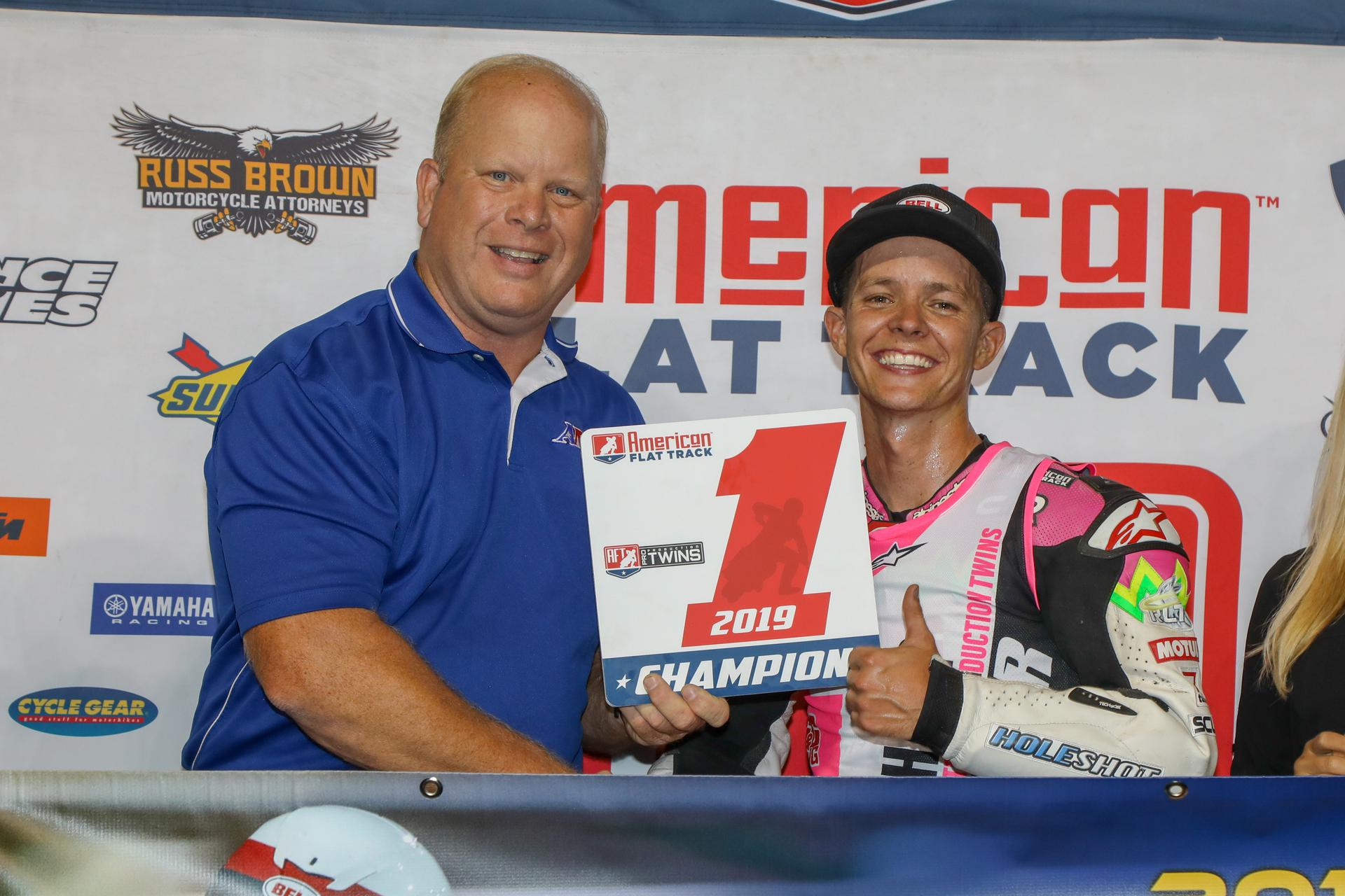 Meadowlands Mile AFT Twins champ