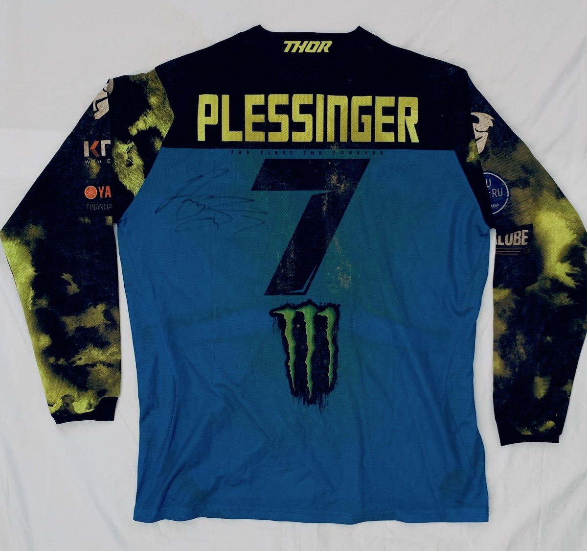 Road 2 Recovery Hosts Motocross Memorabilia Mania eBay Auction - Plessinger race jersey