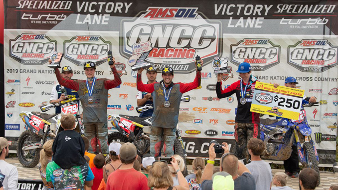 Rockstar Energy Husqvarna Factory Racing's Thad Duvall Wins Mason-Dixon GNCC - XC1 OPEN PRO PODIUM [678]