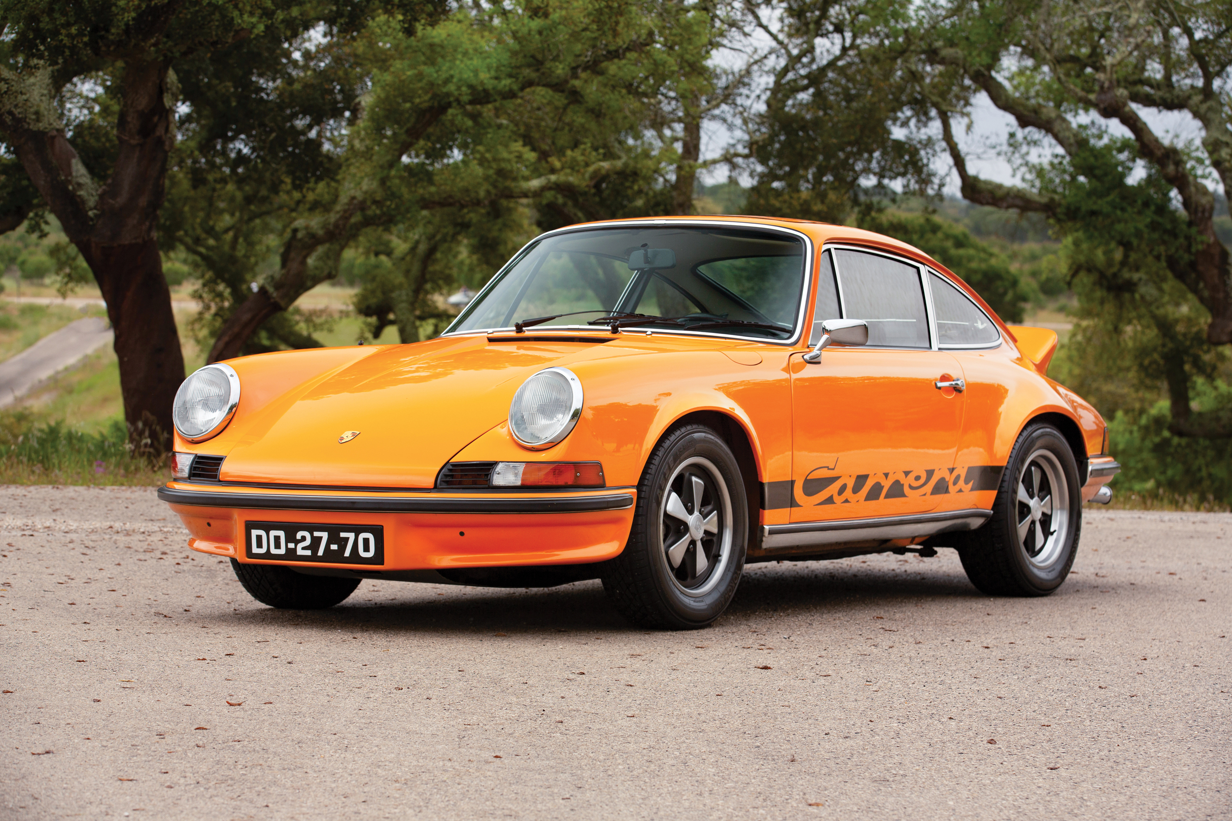 Sarragga Collection - 1973 Porsche 911 Carrera RS 2.7 Touring (Tom Gidden © 2019 Courtesy of RM Sotheby's) [3]
