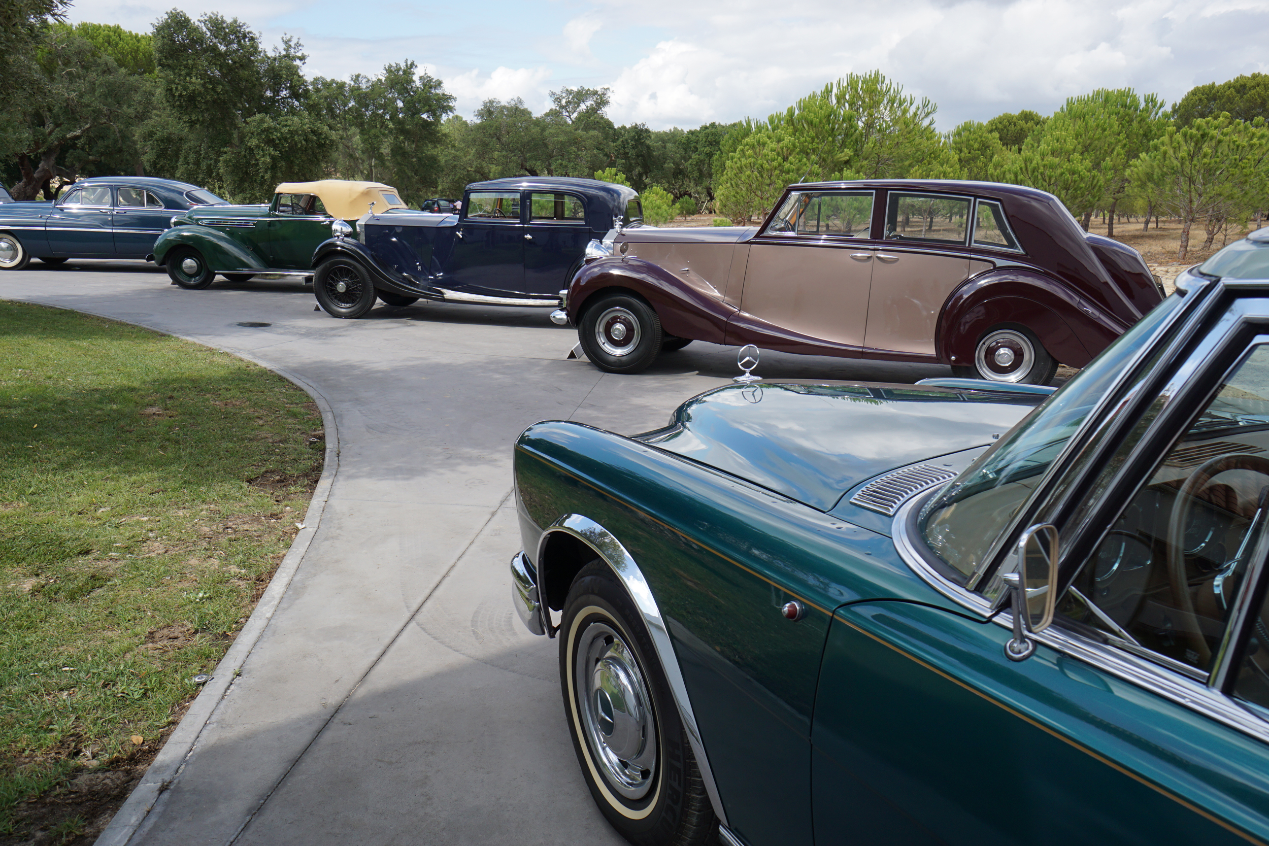 Just a few of the diverse cars on display during the preview of The Sáragga Collection (Peter Ward © 2019 Courtesy of RM Sotheby's) [7]