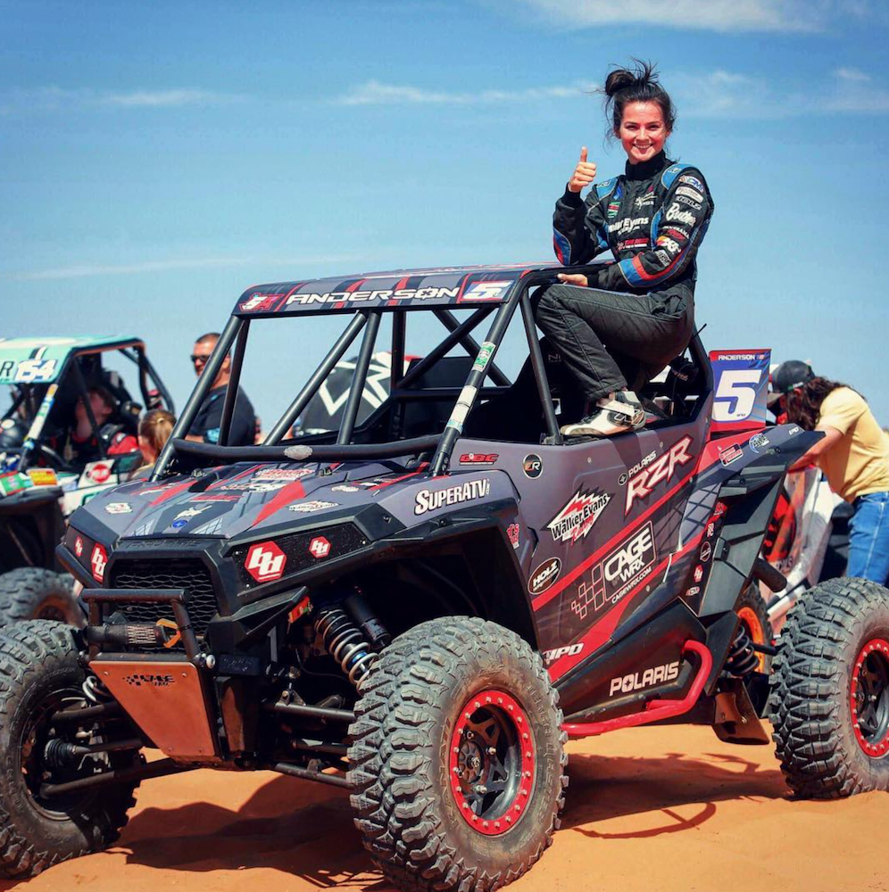 Sponsored racer Shelby Anderson relies on her Terra Master UTV tires to dominate the WORCS Racing Series - GBC Motorsports