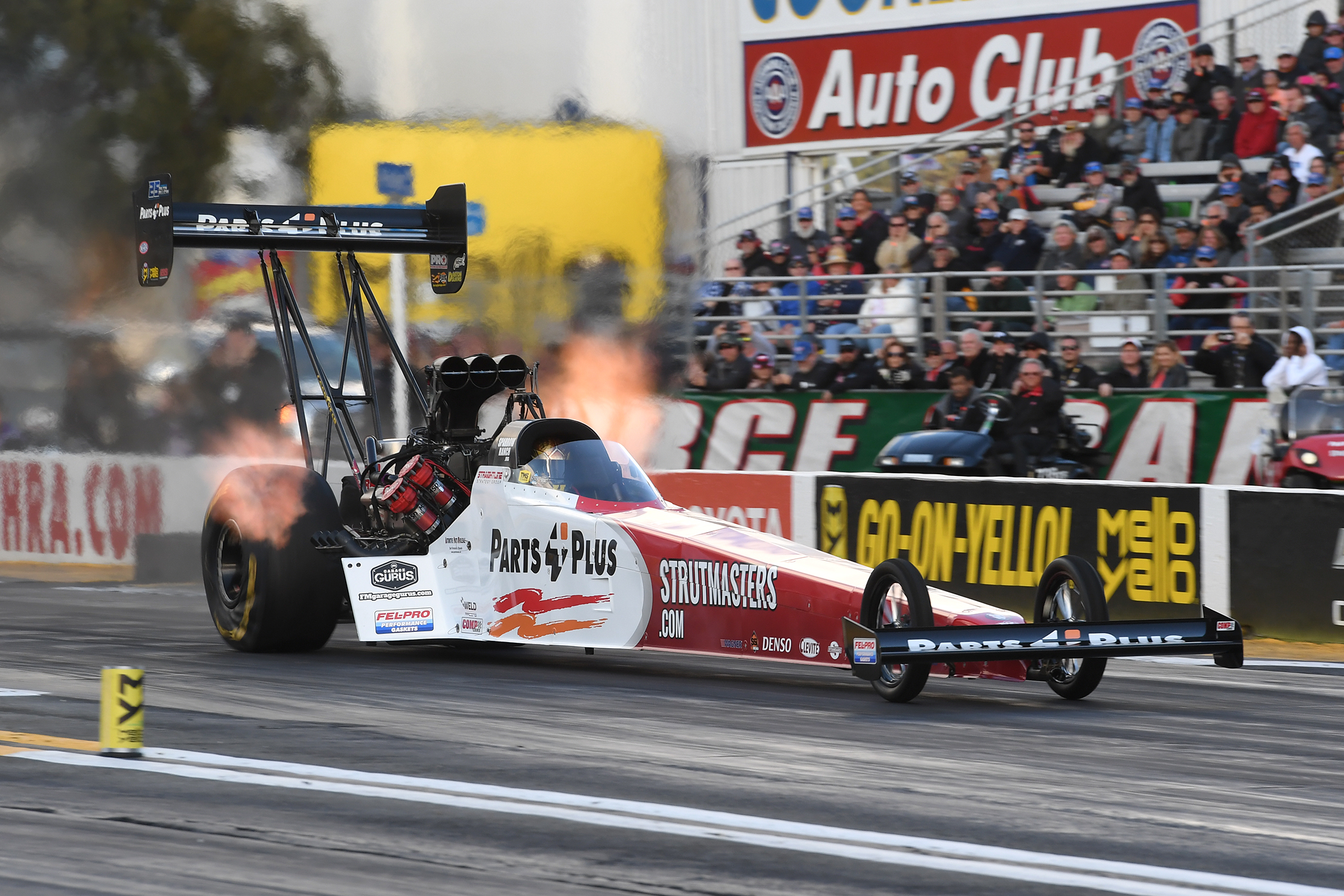 TOP FUEL - CLAY MILLICAN - AAA INSURANCE NHRA MIDWEST NATIONALS action