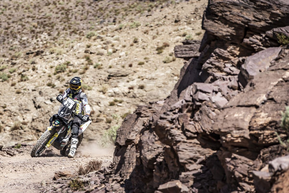 191006 Andrew Short – Rockstar Energy Husqvarna Factory Racing - Rally du Maroc Stage One