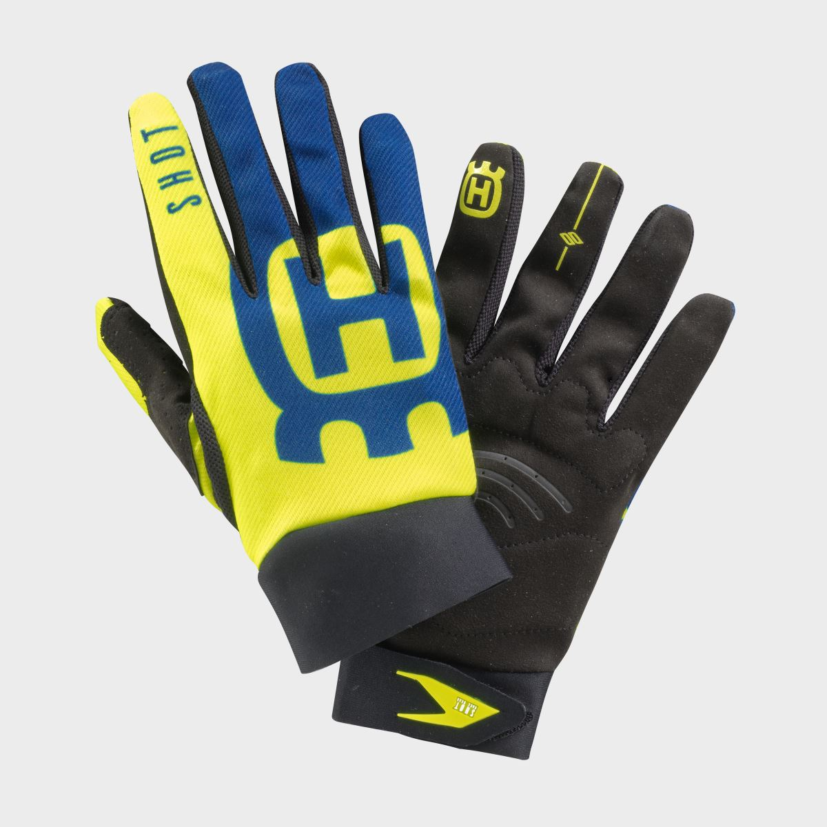 191009 HUSQVARNA MOTORCYCLES REPLICA FLASH COLLECTION 2019 BY SHOT - GLOVES [1]