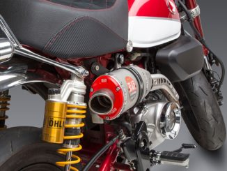 191010 Yoshimura Introduces Honda Monkey RS-3 Exhaust End Cap Options - RED [678]
