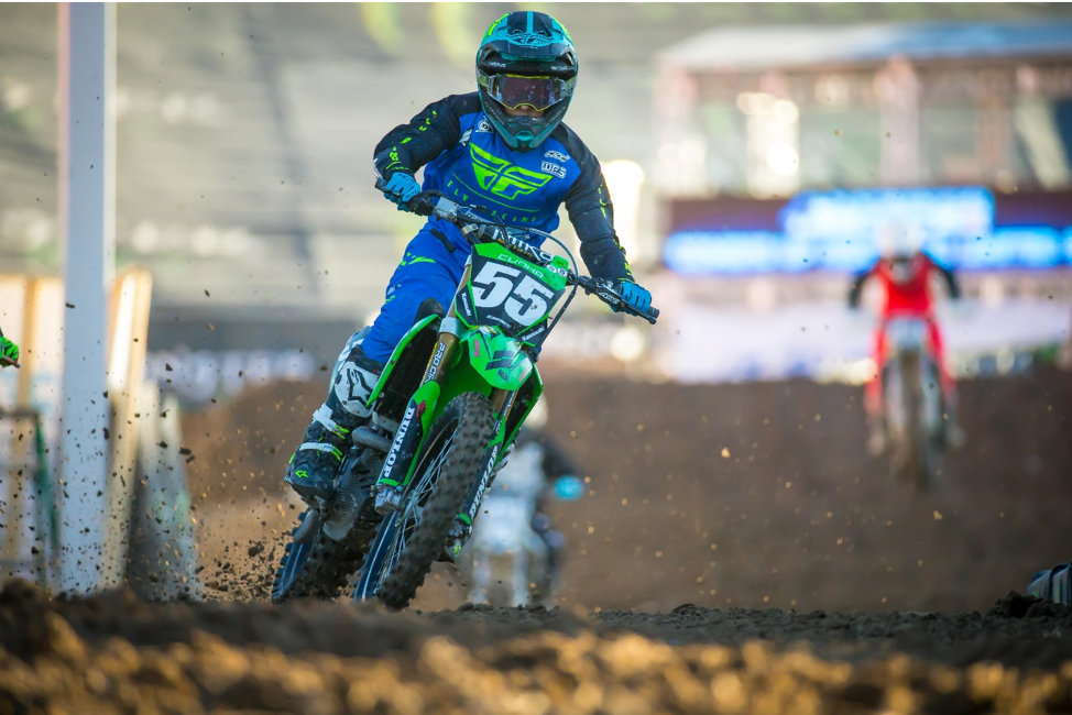191024 Kawasaki's Dylan Cunha was one of only four athletes to take home multiple championships winning both the Open C and 250 C Classes