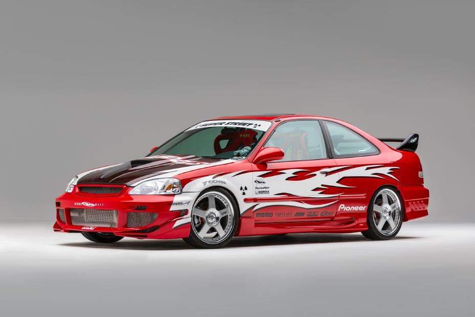 1999 Civic Si Heritage Super Street Build for 2019 SEMA Show