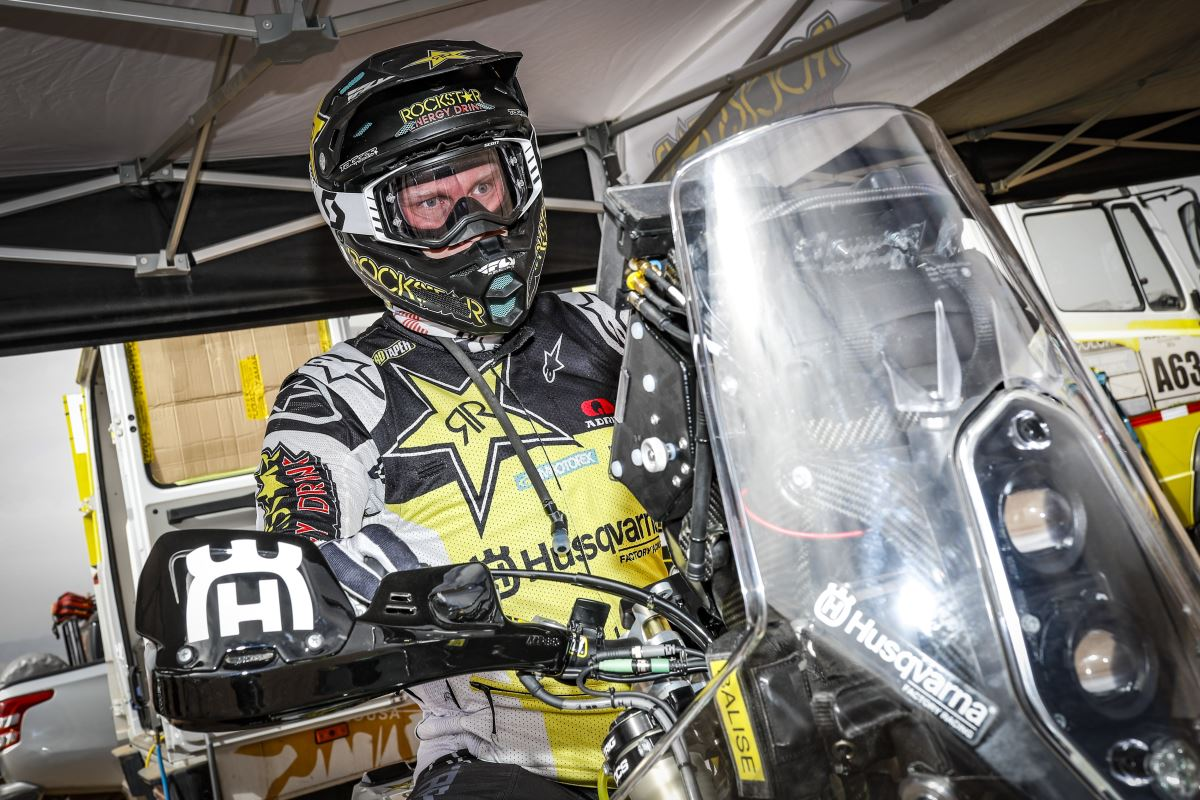 Andrew Short – Rockstar Energy Husqvarna Factory Racing - RALLY DU MAROC [2]
