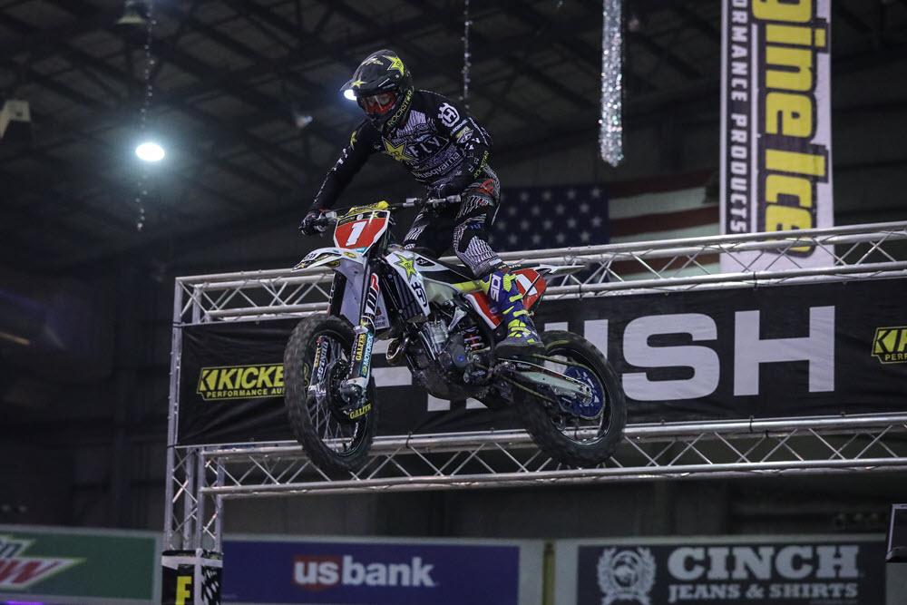Denver Endurcross - Colton Haaker rode well in Denver but could not find a way to beat Blazusiak. Photo- Jack Jaxon.