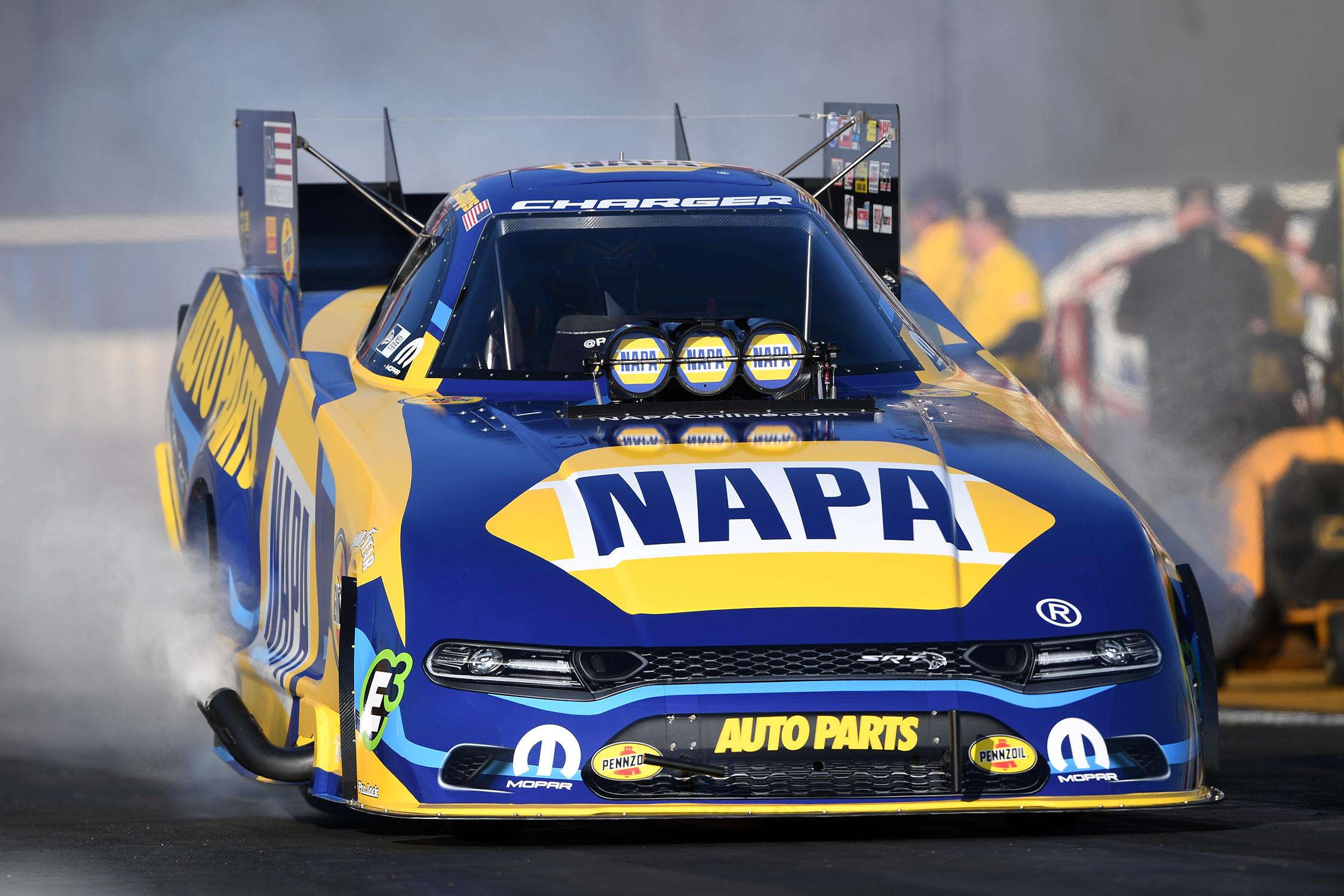 Funny Car - Ron Capps - NHRA Carolina Nationals action