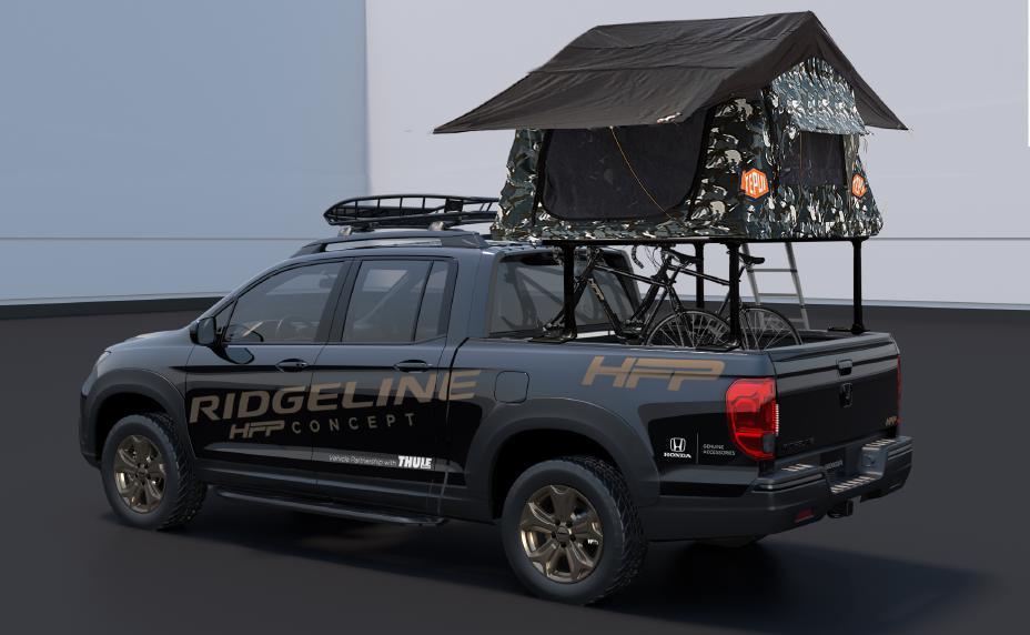 Honda Ridgeline HFP Concept for 2019 SEMA Show