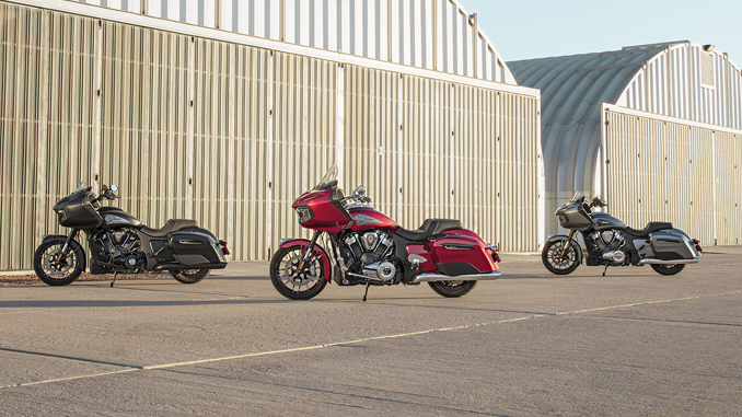 Indian Motorcycle - All-New 2020 Challenger – the Ultimate American Bagger [678]