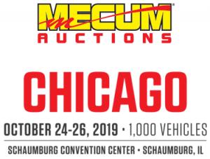 Mecum Chicago logo