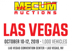 Mecum Las Vegas logo