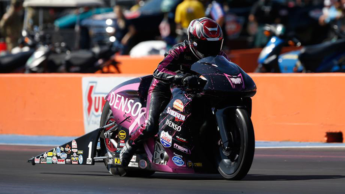 Pro Stock Motorcycle - Matt Smith - AAA Texas NHRA Fallnationals [678]