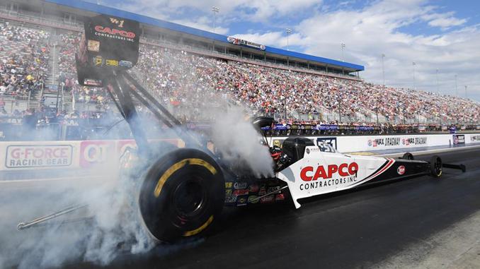 Top Fuel - Steve Torrence - NHRA Carolina Nationals action [678]