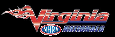 Virginia NHRA Nationals logo