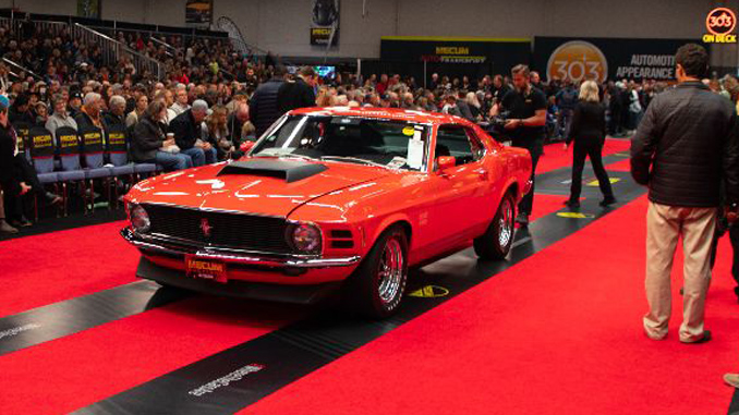 191101 Mecum Chicago - 1970 Ford Mustang Boss 429 Fastback (Lot S156) [678]