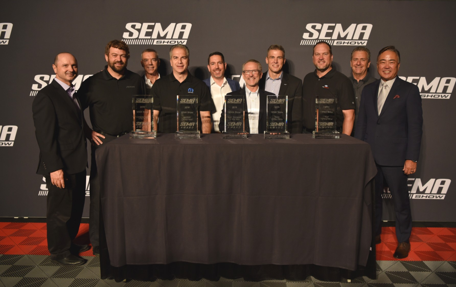 191105 SEMA Announces Vehicles of the Year