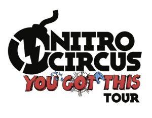 """191113 Nitro Circus' Action-Packed """"You Got This"""" Tour logo"""