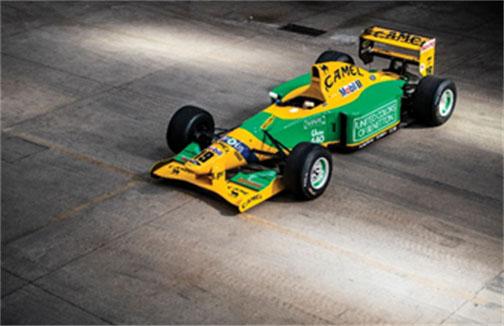 191114 1992 Benetton B192 (Rémi Dargegen © 2019 Courtesy of RM Sotheby's) [6]