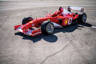191114 A new photo of the Ferrari F2002 on Ferrari's legendary Fiorano track (Rémi Dargegen © 2019 Courtesy of RM Sotheby's) [2]