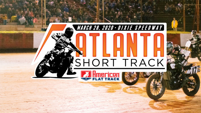 191114 American Flat Track Returns to Dixie Speedway in 2020 for the Atlanta Short Track