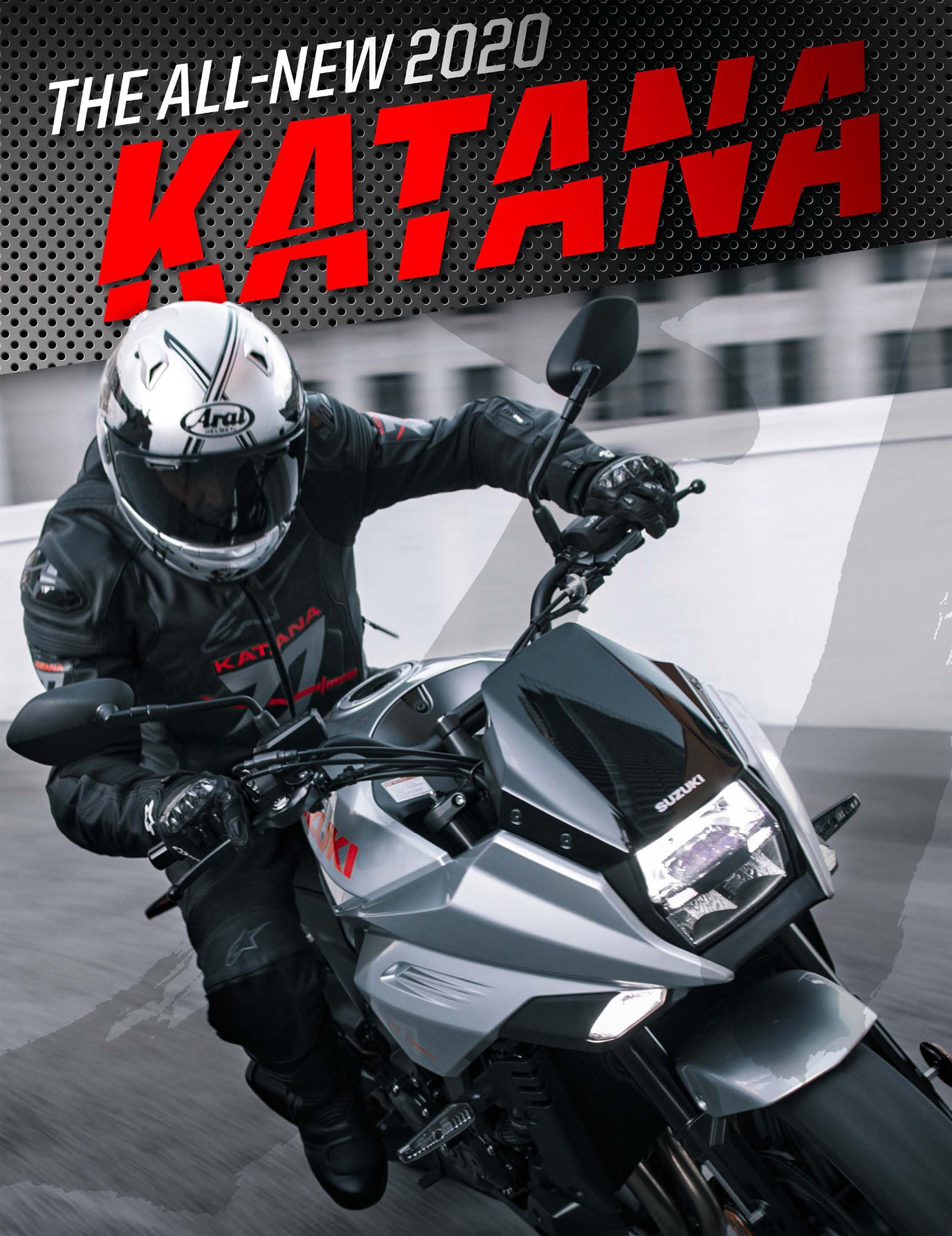 191114 Suzuki to Spotlight 2020 KATANA with Exclusive First-Ever U.S. Demo at IMS Long Beach