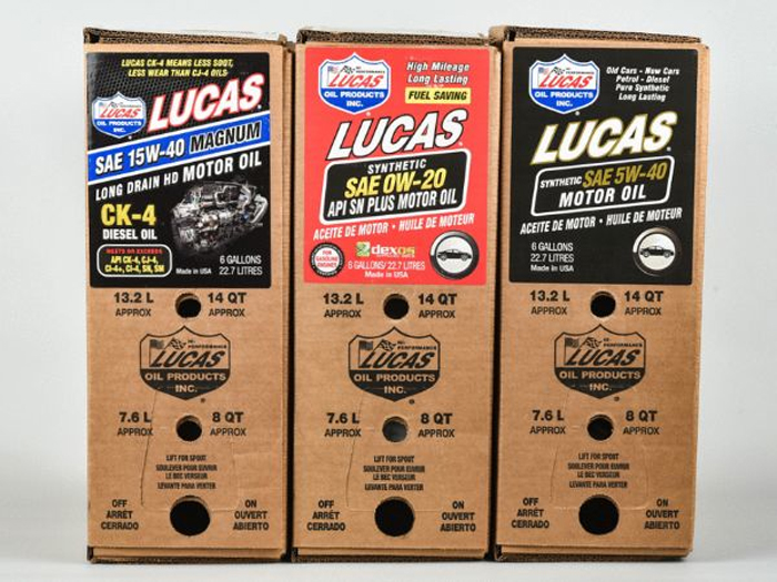 191118 Lucas Oil's award-winning - Bag in a Box