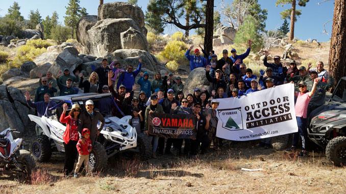 191120 Yamaha employees volunteering in the San Bernardino National Forest [678]