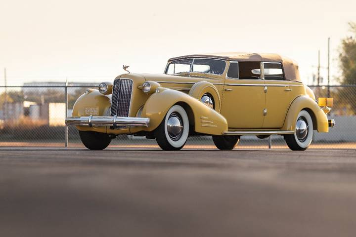 1935 Cadillac V-16 Imperial Convertible Sedan by Fleetwood - RM Sotheby's Arizona sale