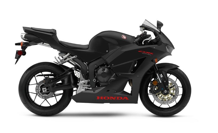 2020 Honda CBR600RR Matte Black Metallic