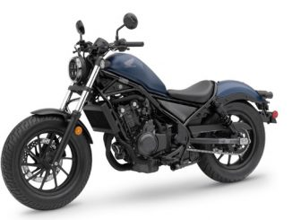 2020 Honda Rebel 500 Matte Blue Jeans Metallic [678]