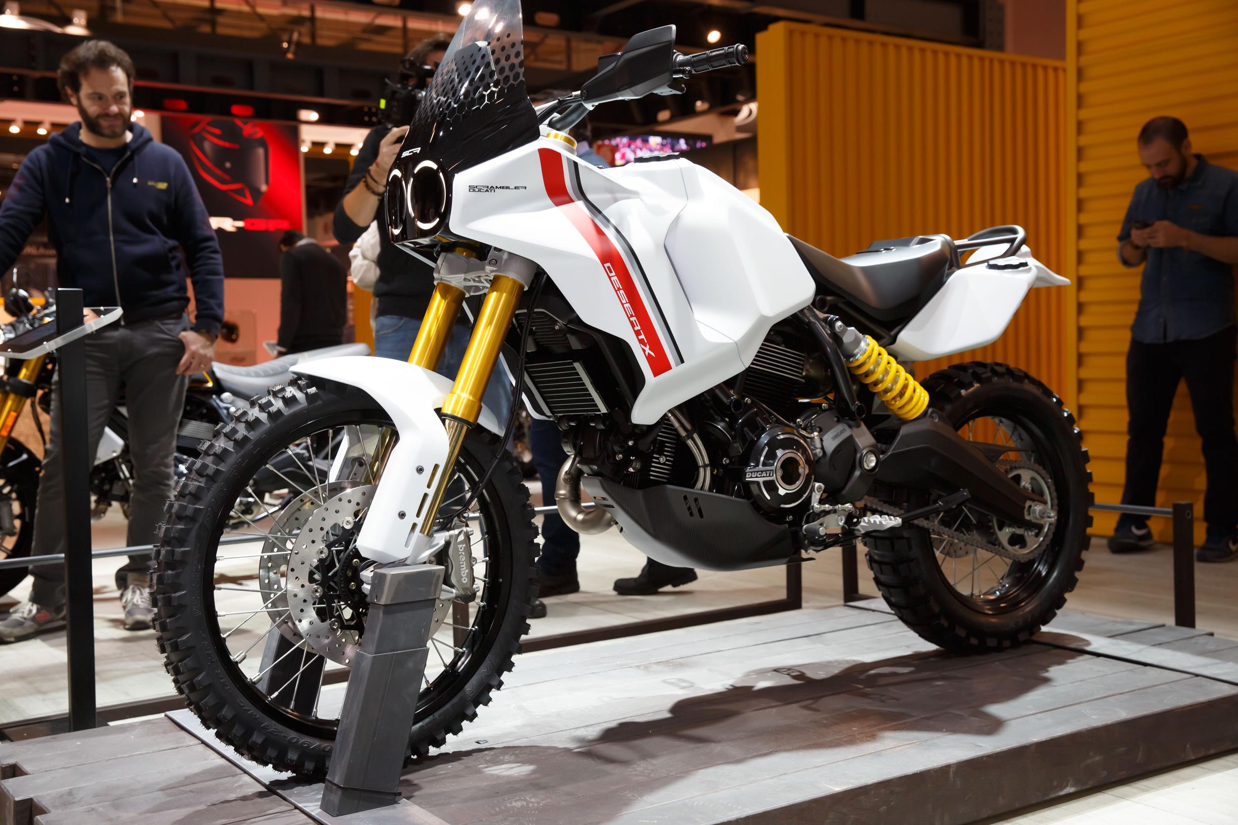 Ducati Scrambler DesertX concept bike