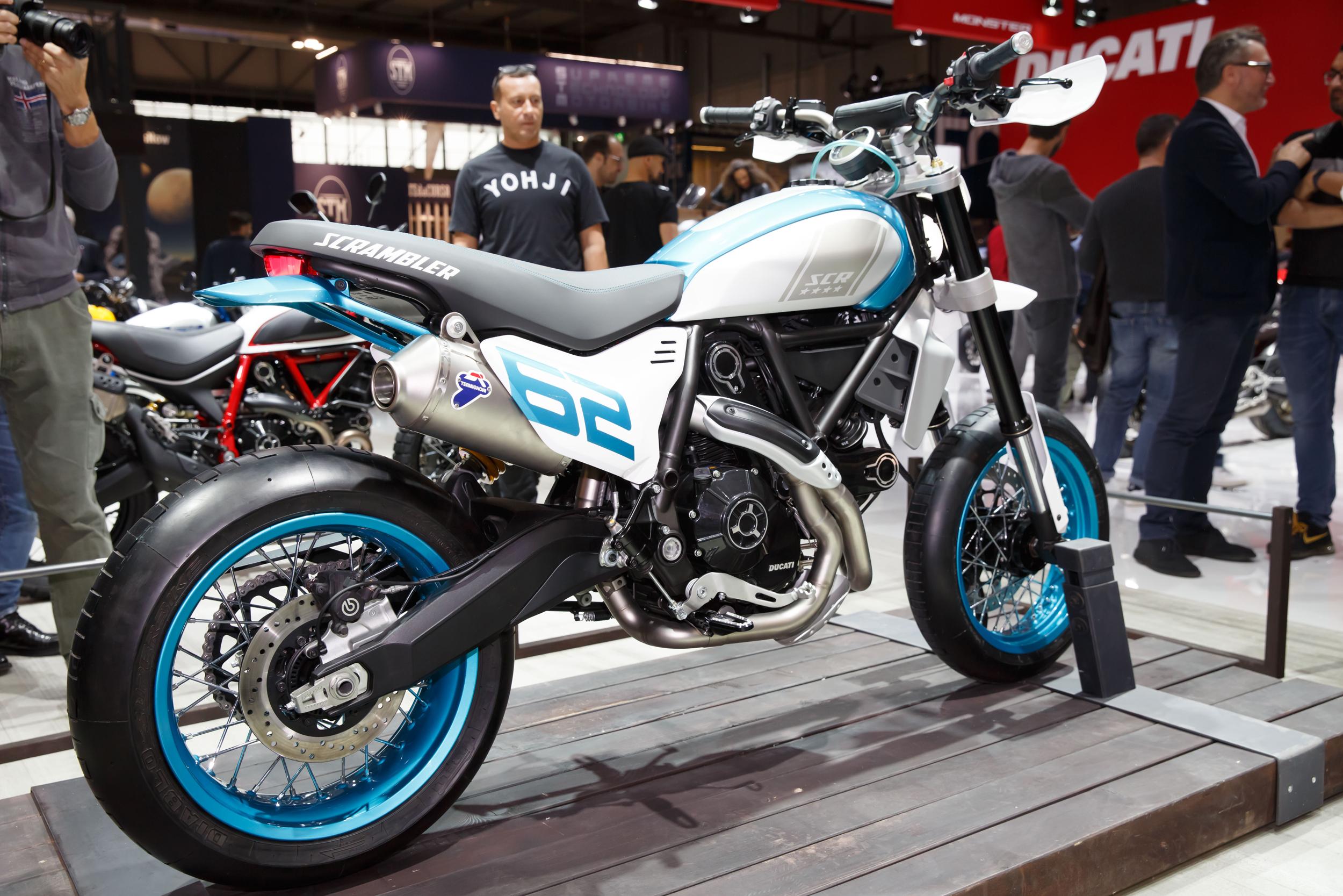 Ducati Scrambler Motard concept bike