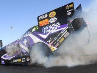 Funny Car - Jack Beckman - Dodge NHRA Nationals action [678.1]