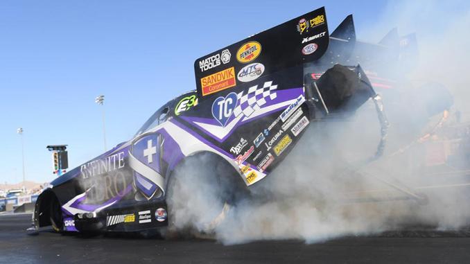 Funny Car - Jack Beckman - Dodge NHRA Nationals action [678.1]