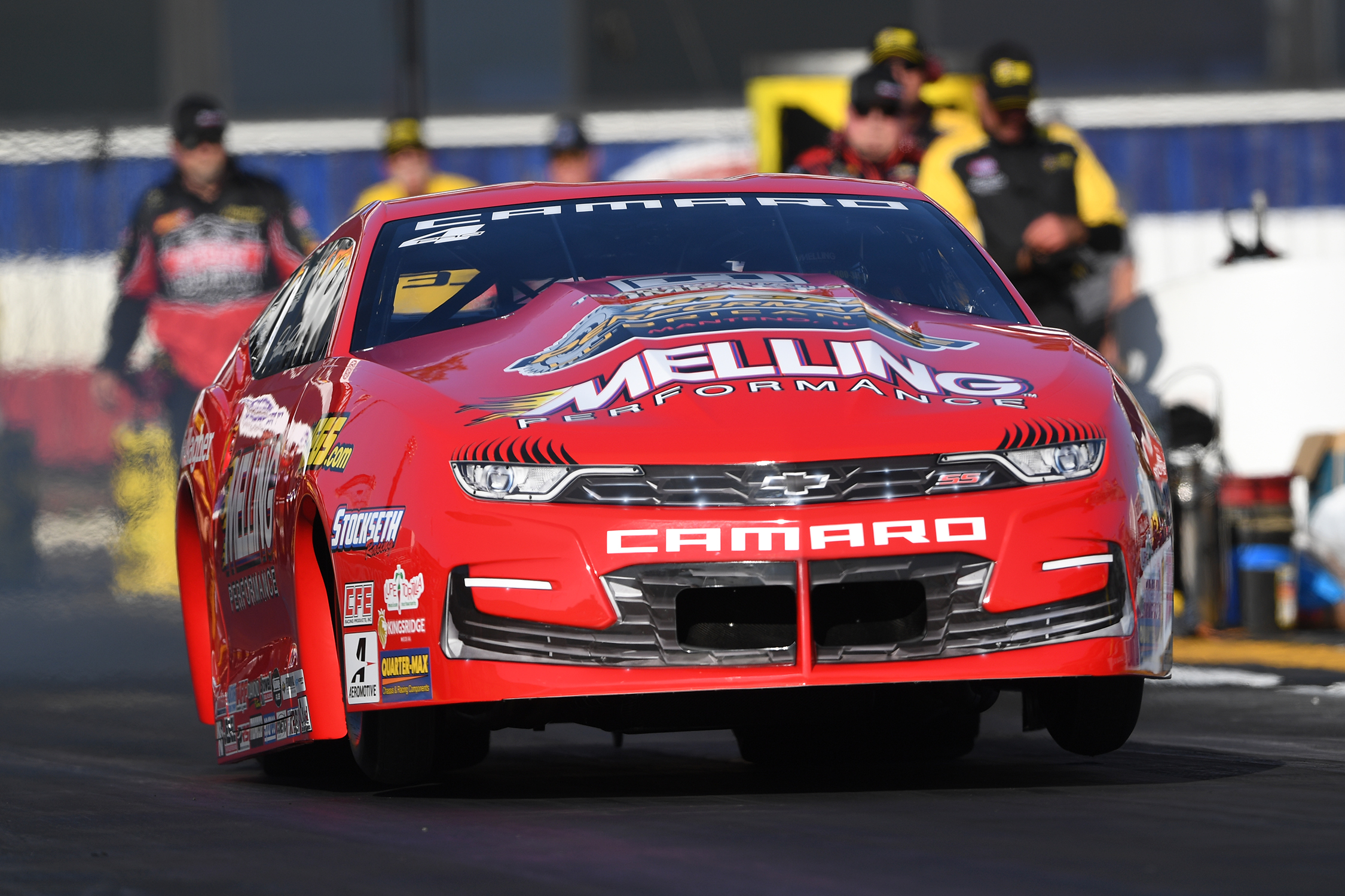 Pro Stock - Erica Enders - Auto Club NHRA Finals action