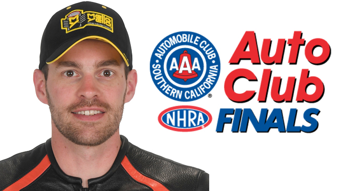 Pro Stock Motorcycle - Andrew Hines - Auto Club NHRA Finals [678]