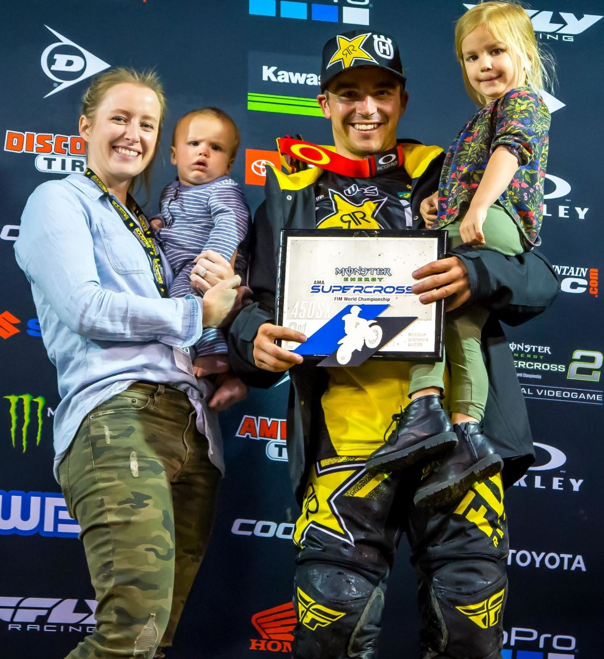 Rockstar Energy Husqvarna Factory Racing Extend Contract with Zach Osborne [3]