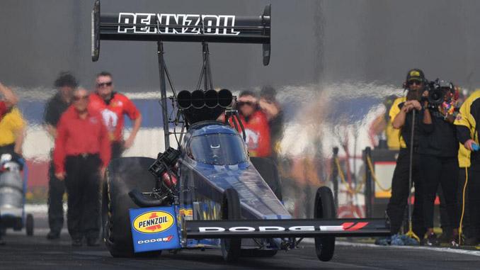 Top Fuel - Leah Pritchett - Auto Club NHRA Finals action [678]