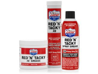 "191203 Lucas Oil Red ""N"" Tacky Spray Grease [678]"