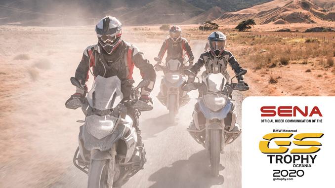 Sena Technologies BMW GS Trophy 2020