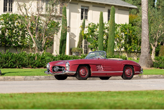 191212 1957 Mercedes-Benz 300 SL Roadster (Robin Adams © 2019 Courtesy of RM Sotheby's)